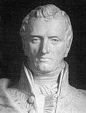 Claude-Louis Navier - Bust of Claude Louis Marie Henri Navier at the École Nationale des Ponts et Chaussées