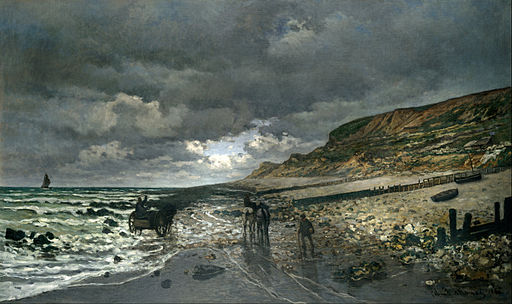 Claude Monet - La Pointe de la Hève at Low Tide - Google Art Project