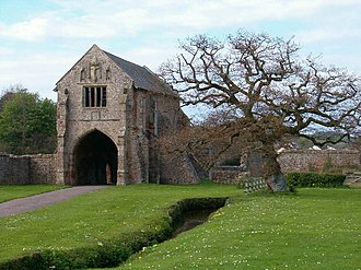 Cleeve Abbey - The abbey gatehouse.