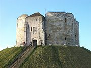Clifford's Tower, from south