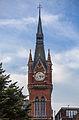 Clock tower, Midland Hotel, St Pancras Station, London, England, GB, IMG 4985 edit.jpg