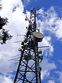 Close up of a communications tower on Willans Hill.jpg