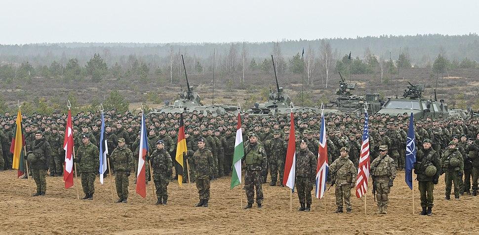 Closing ceremony for Iron Sword 2014