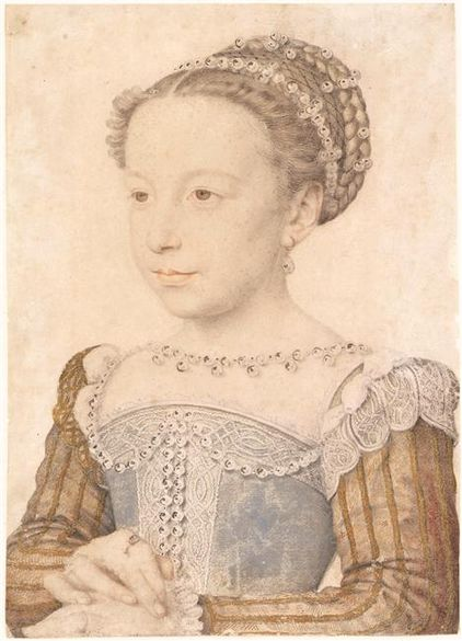 http://upload.wikimedia.org/wikipedia/commons/thumb/9/9a/Clouet_Margerite_of_Valois.jpg/422px-Clouet_Margerite_of_Valois.jpg
