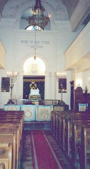 Cluj-Napoca Neolog Synagogue - Interior view