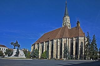 City in Cluj County, Romania