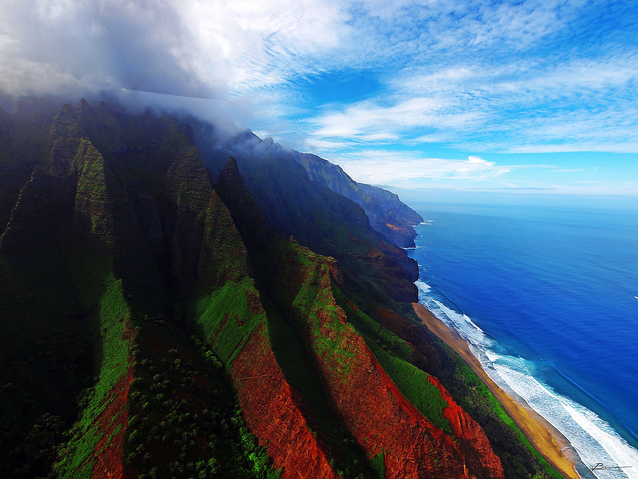 File:Coast of Kauai, Hawaii.jpg - Wikimedia Commons