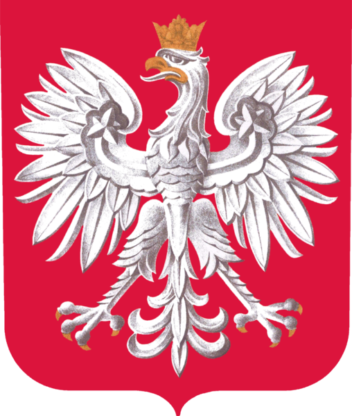 Fájl:Coat of arms of Poland.png