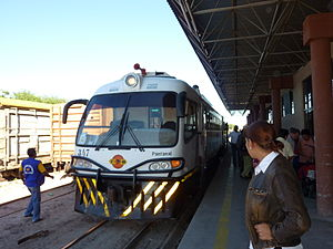 Railbus - Modern-day railbus, built originally by Ferrostaal, entirely rebuilt and redesigned in Santa Cruz de la Sierra, Bolivia