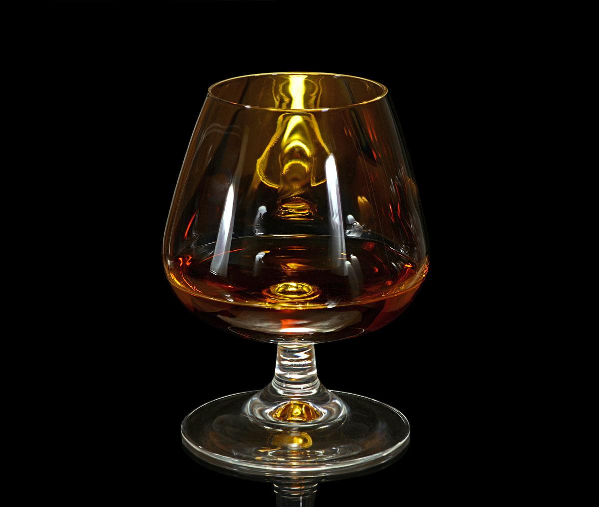 Bourbon Snifter Glass