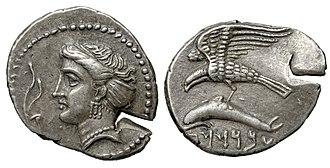 Sinop, Turkey - Coinage of Achaemenid satrap Abrocomas, Sinope, Paphlagonia, circa 400-385 BC.