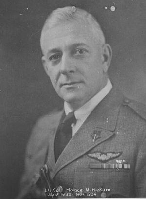 Horace Meek Hickam - Colonel Horace Hickam