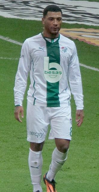 Colin Kazim-Richards - Kazim-Richards playing for Bursaspor in 2014