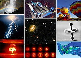 Physics study of matter and its motion, along with related concepts such as energy and force