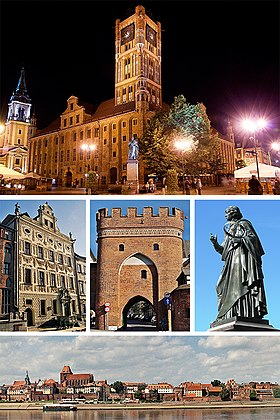 Collage of views of Torun, Poland.jpg