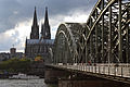 Cologne Cathedral and Hohenzollern Bridge.jpg