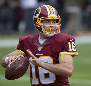 Colt McCoy - McCoy with the Washington Redskins in 2014