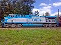 Comboio parado no pátio da Estação Ferroviária de Salto - Variante Boa Vista-Guaianã km 210 - panoramio (7).jpg