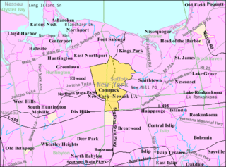 Commack, New York Hamlet and census-designated place in New York, United States