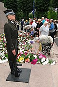 Commemoration of Victims of Communist Terror - At Freedom Monument - June 14 - Riga - Latvia - 01 (5833447956).jpg