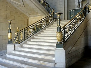 Compiègne (60), palais, escalier d'Apollon 1.jpg