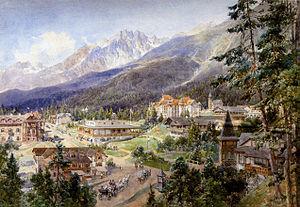 Starý Smokovec - Image: Compton, 1890, Altschmecks in der Hohen Tatra