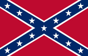 "The ""Confederate Flag"", a rectangula..."