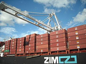 Zim Integrated Shipping Services - Zim Container ship