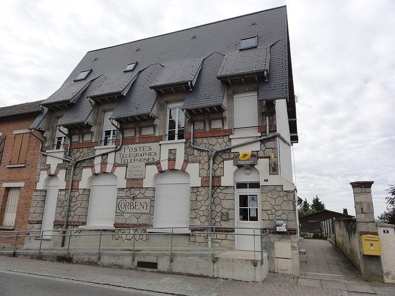 Corbeny (Aisne) bureau de poste