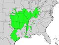Cornus drummondii map.png
