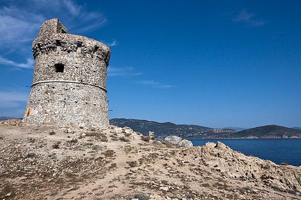 Monument historique à Cargèse