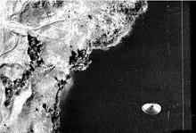 Presunto disco volante fotografato sul lago Cote in Costa Rica nel 1971