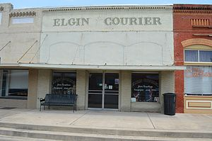 Elgin, Texas - Elgin Courier building