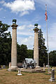 Courthouse Columns in the Oak Hill Cemetery.jpg