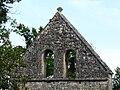 Couze-et-Saint-Front église St Front clocher-mur.JPG