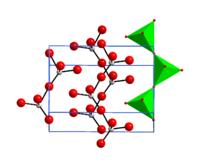 Die Kristallstruktur von Chrom(VI)-oxid
