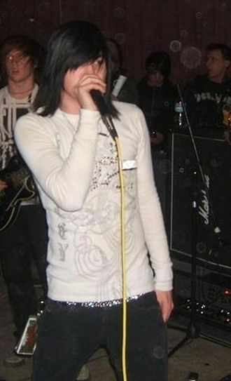 Craig Mabbitt - Mabbit in 2007 with Blessthefall