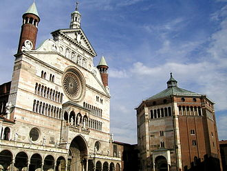 Claudio Monteverdi - Cremona Cathedral, where Monteverdi's teacher Ingegneri was maestro di capella