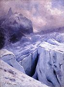 Crevasses on the Glacier du Geant, Mont Blanc Massif.jpg