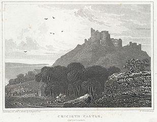 Cricieth Castle, Caernarvonshire