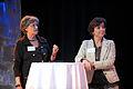 Cristina Husmark Pehrsson, nordisk samarbetsminister sverige och Karen Ellemann, Danmarks miljominister och minister for nordiskt samarbete pa oresundstinget i Malmo 28 maj 2010.jpg
