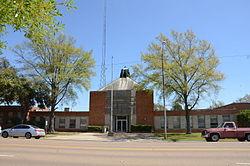 Crossett Municipal Building, front.JPG