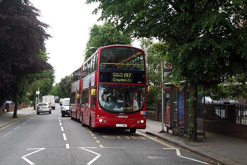 File:Croydon - Buses in Morland Road - geograph.org.uk - 1907968.jpg