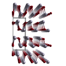 Crystal structure of orthorhombic SnSe and GeSe.png