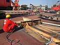 Cutter-man in Hong Kong Convention compliant yard in Alang, India.jpg