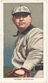 Cy Young, Cleveland Naps, baseball card portrait LCCN2008676575.jpg