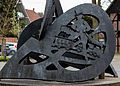 Dülmen, Buldern, Skulptur am Großen Spieker -- 2015 -- 5508.jpg