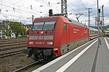 DB 101 105-5 Koblenz Hbf