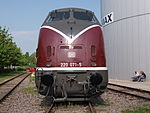DB Class V 200, DB 220 071-5 at Speyer museum p1.JPG