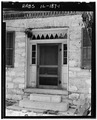 DETAIL OF DOORWAY - Stone House, Columbia, Monroe County, IL HABS ILL,67-COLUM,13-1.tif